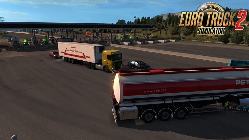 Krone Coolliner | traffic and job market v1.0 for Ets2