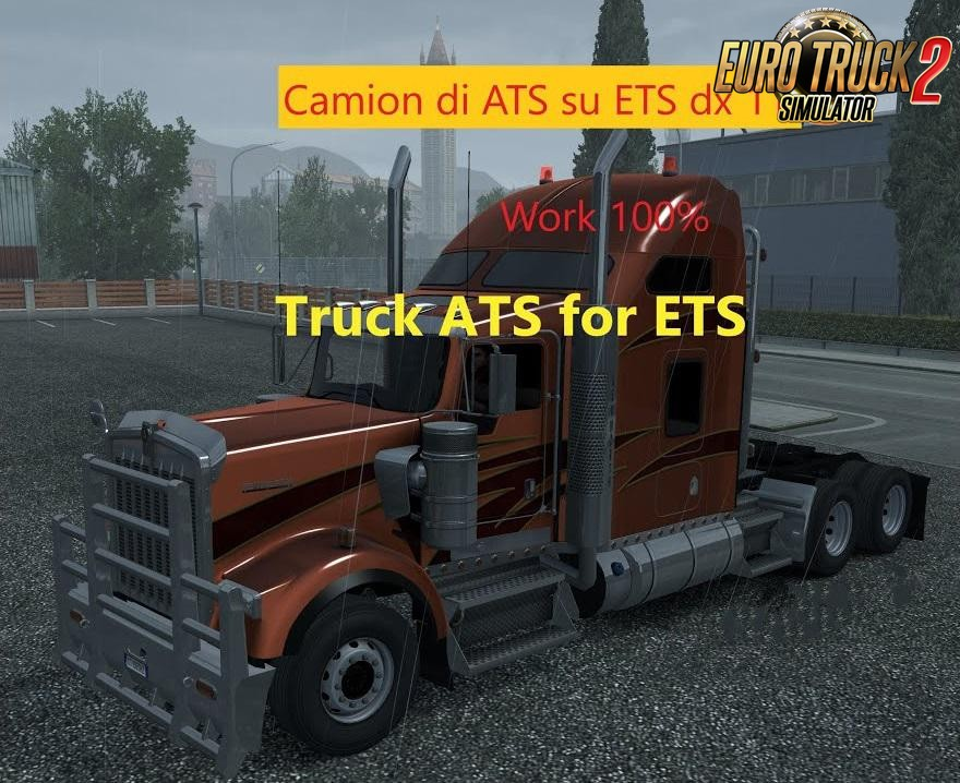 American Pack Trucks for ETS2 v1.0 (1.35.x)