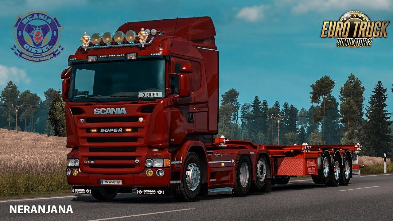 Scania P & G Series by Wolfi & Nazgûl v1.3 by Sogard3 (1.36.x)