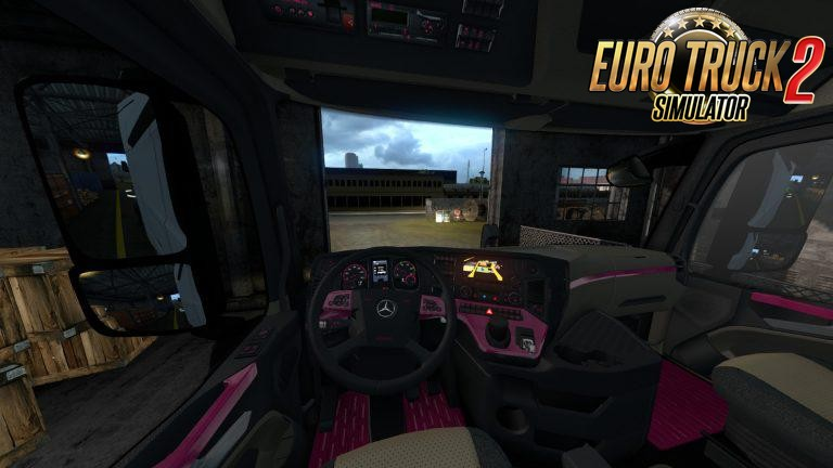 Mercedes Actros MP4 Colored Dashboard v2.0 (1.36.x)