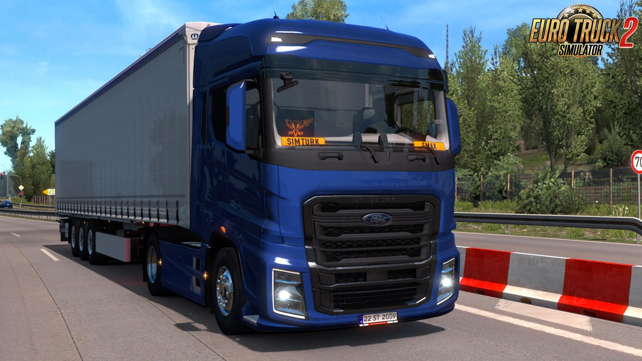 Ford Trucks F-MAX v1.0 for Ets2
