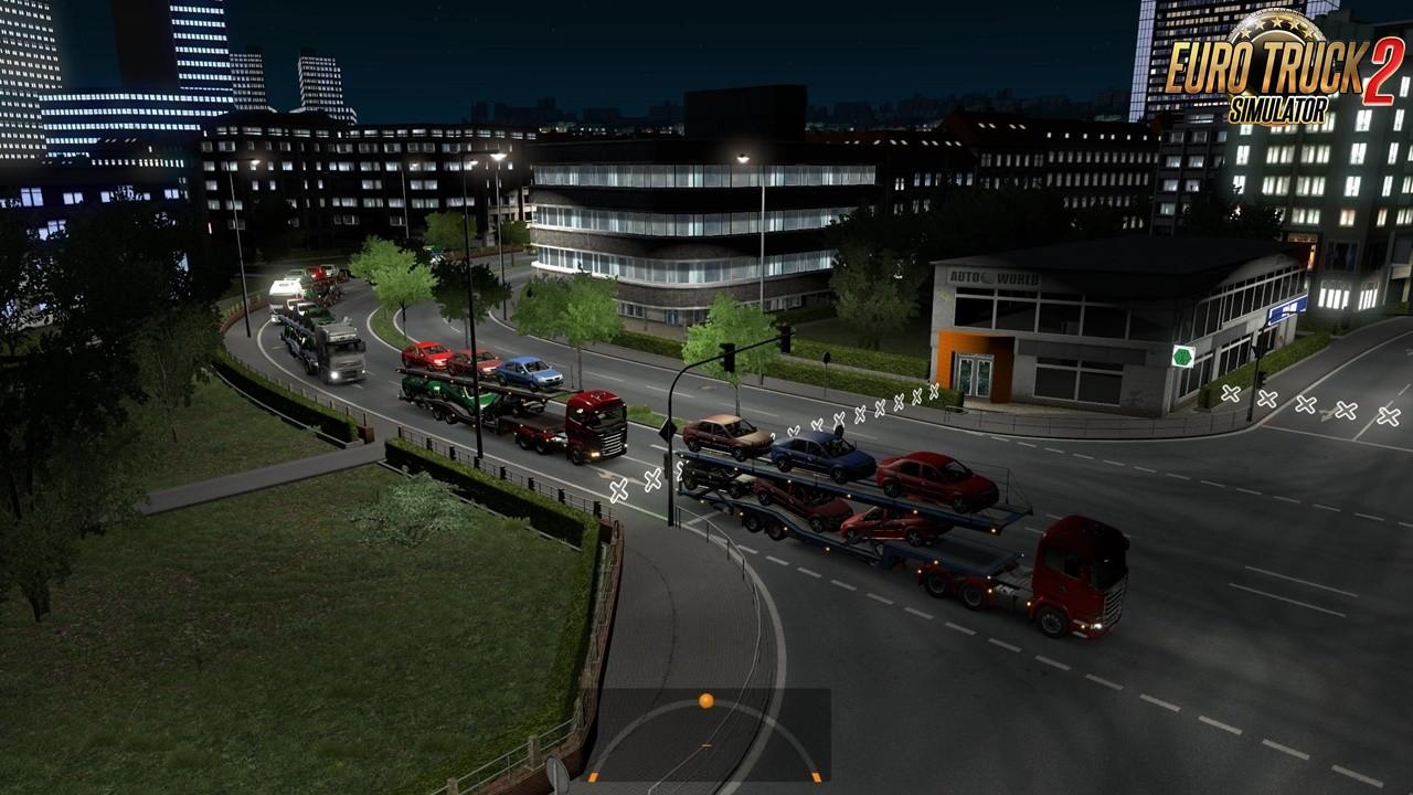 Dacia Logan trailer for Ets2