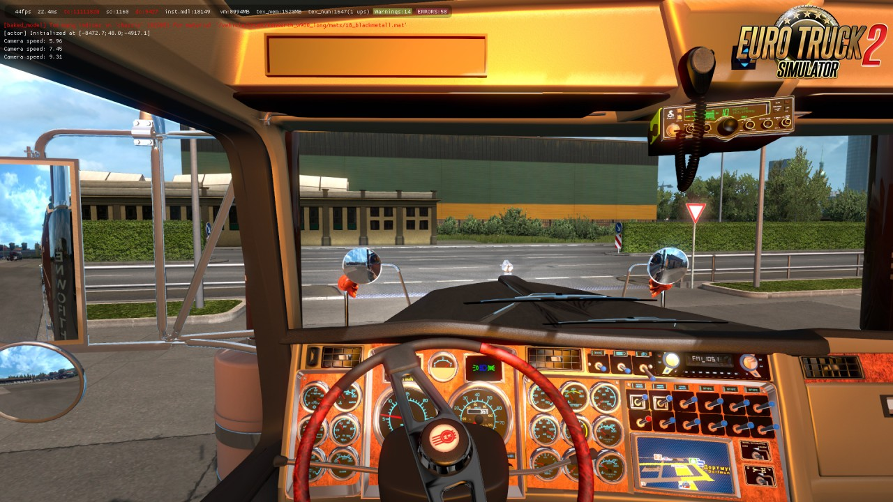 Kenworth W900 Long Version 8-2 E for Ats (1.35.x and 1.36.x)