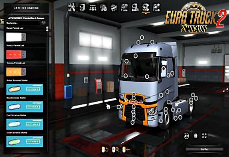New Accessories Pack–for all trucks (1.36.x)