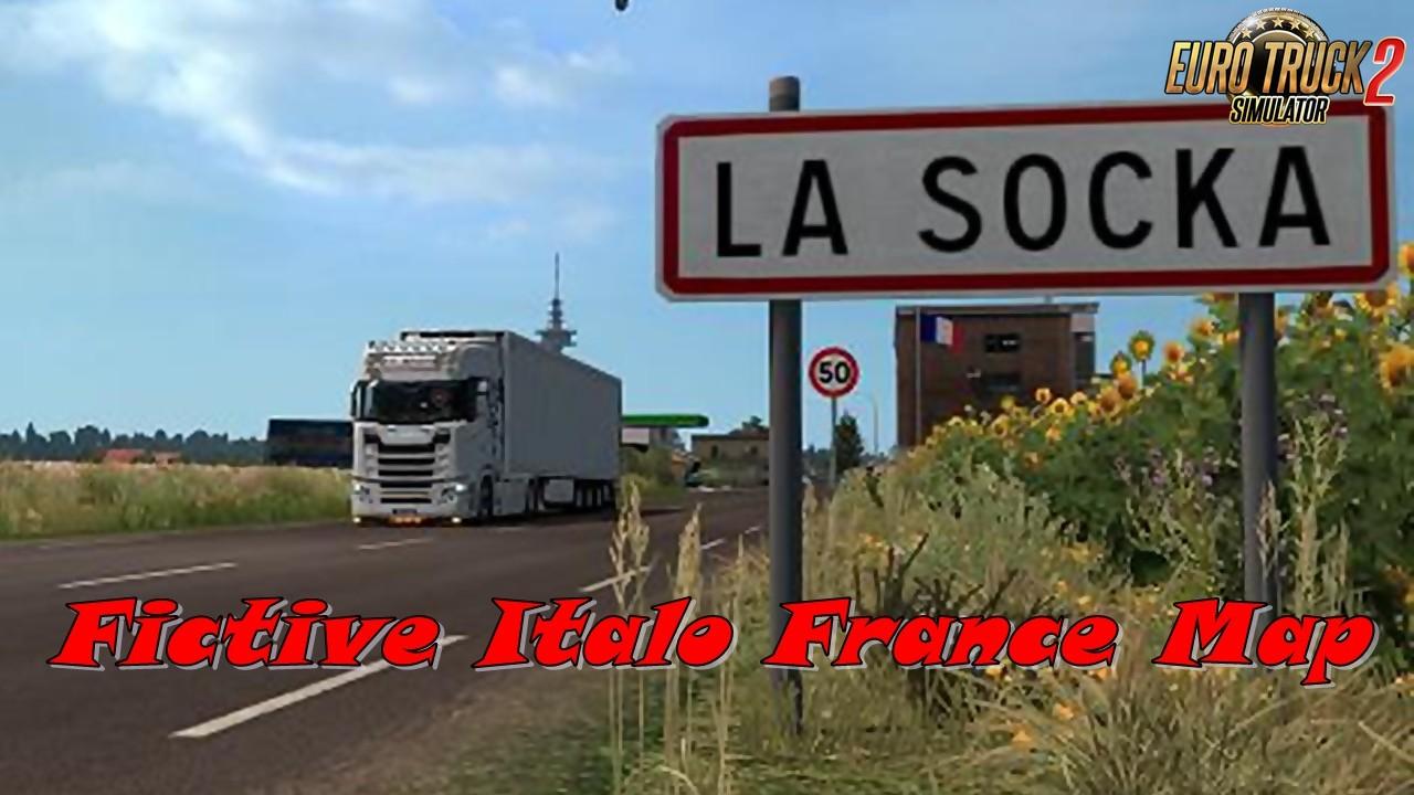 Fictive Italo France Map v1.1 for Ets2