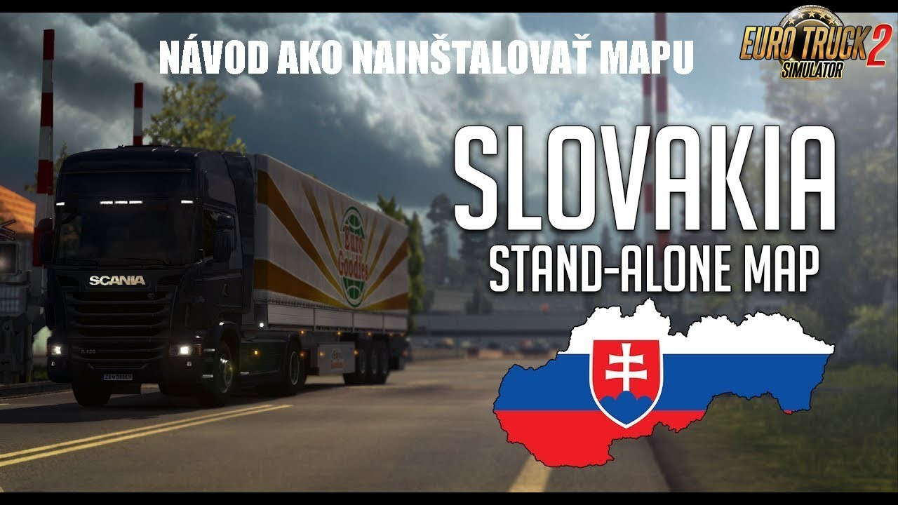 Slovakia Map by kapo944 v6.2.7. BETA (1.35.x-1.36 beta)