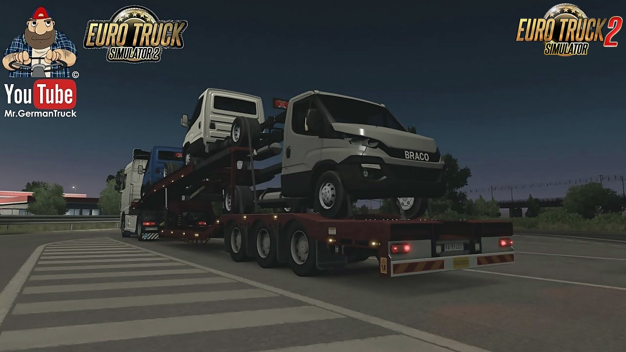Ownable Car Transporter for Ets2