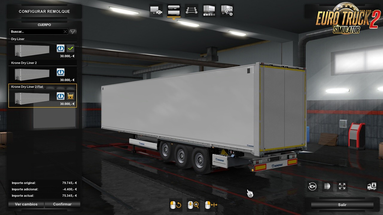 Doors for Krone DryLiner v1.0 by Sogard3 [1.36.x]