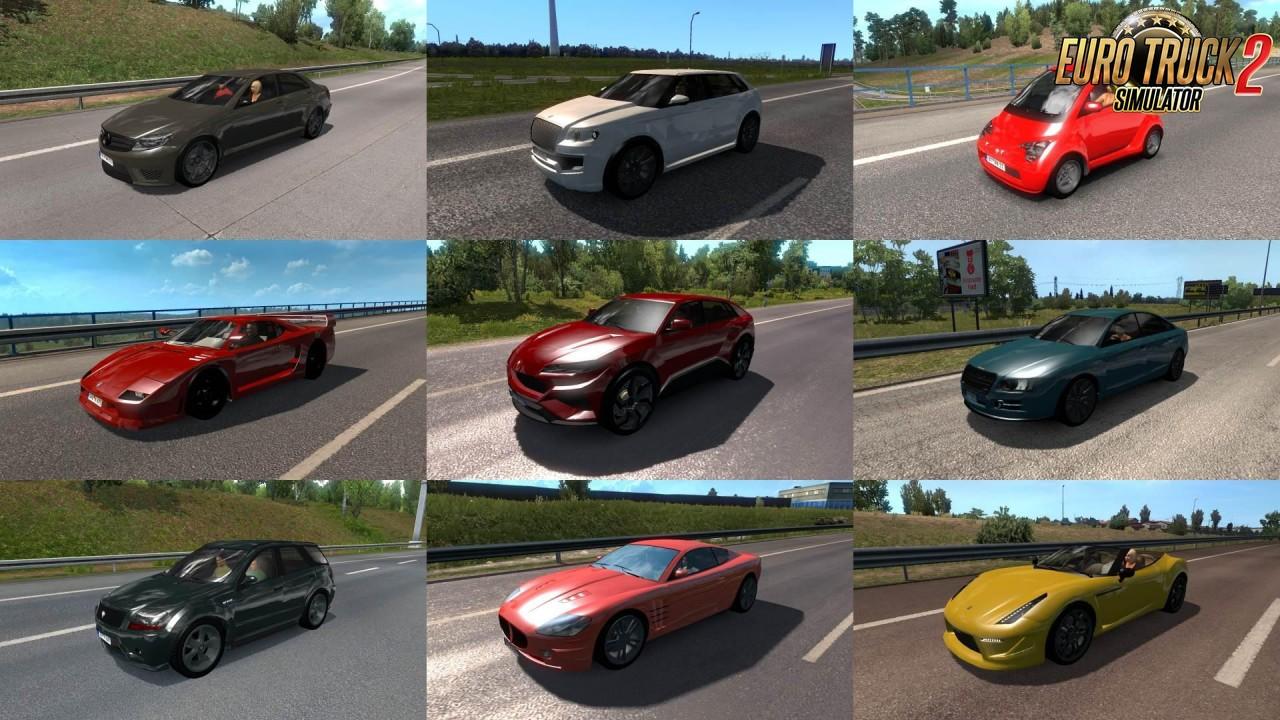 GTA V cars v2.2 for ETS2 traffic