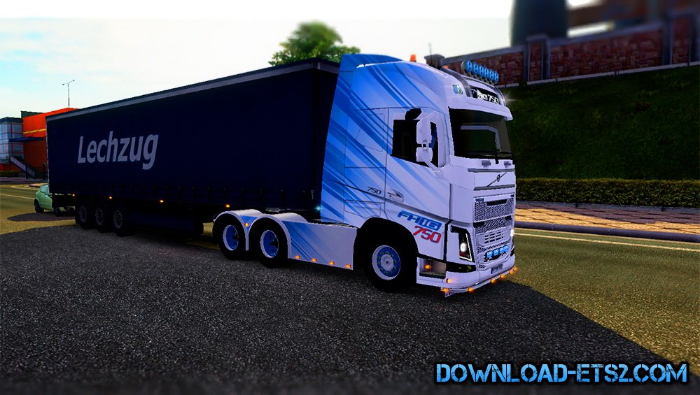 VBW Skin for Volvo FH16 2012 by Ghass72