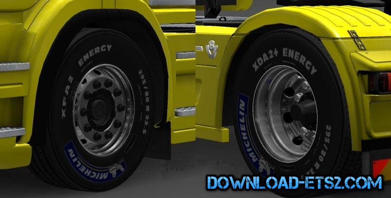 50K SCANIA T ALCOA WHEELS PACK v1.1 for ETS2