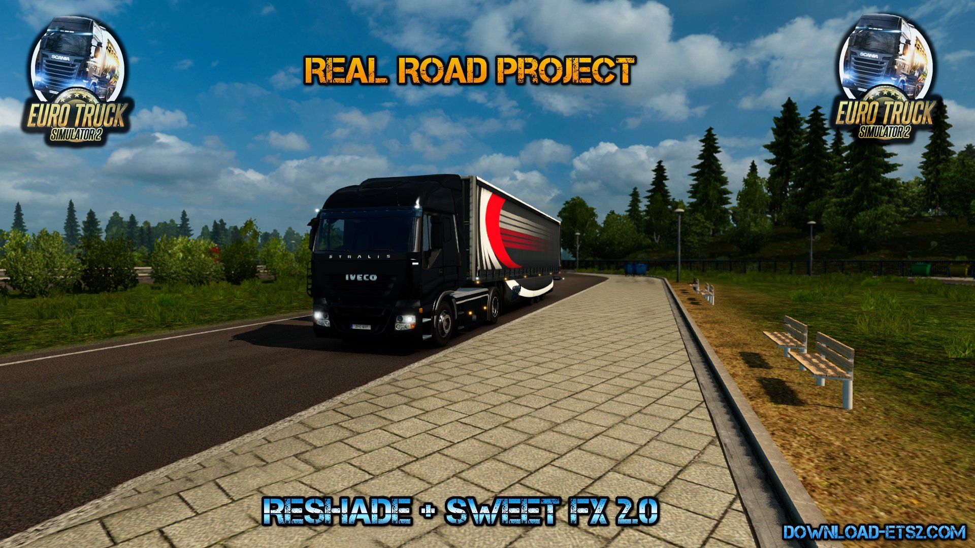 Real Road Project (Reshade + Sweet FX 2.0)