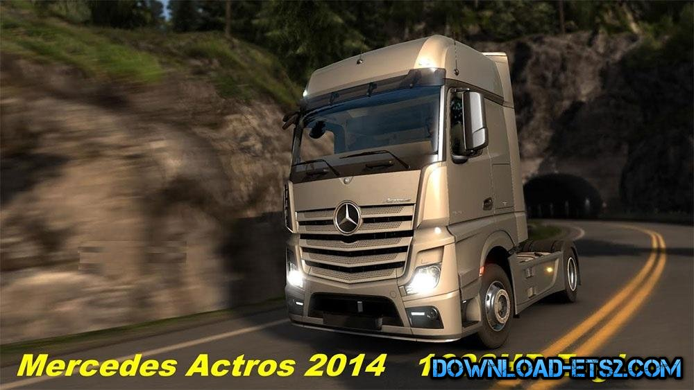 MERCEDES ACTROS 2014 1000HP ENGINE[1.18]