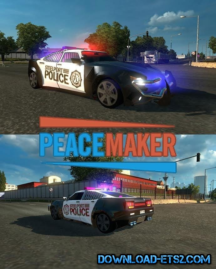 PEACEMAKER CAR IN TRAFFIC by alkonavt96