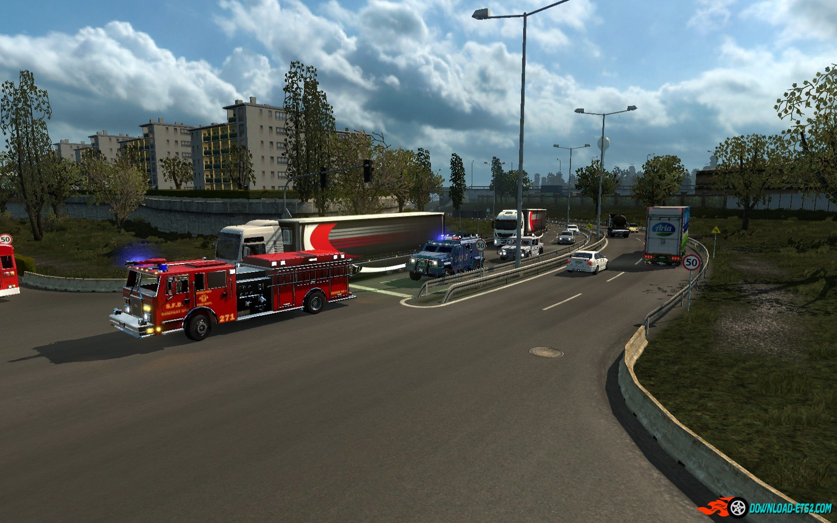 SAINTS ROW 3 TRAFFIC PACK by alkonavt96