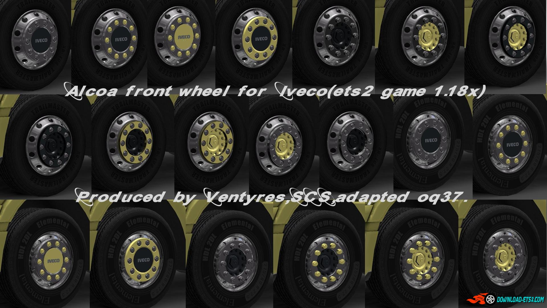 IVECO WHEELS PACK