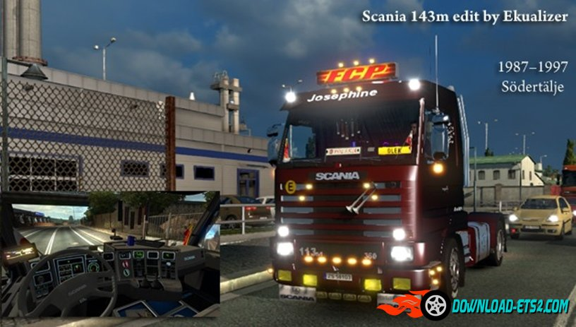 Scania 143m - Edit by Ekualizer [1.21.x]