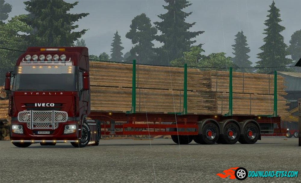Iveco Stralis 750 HP (singleplayer/multiplayer)