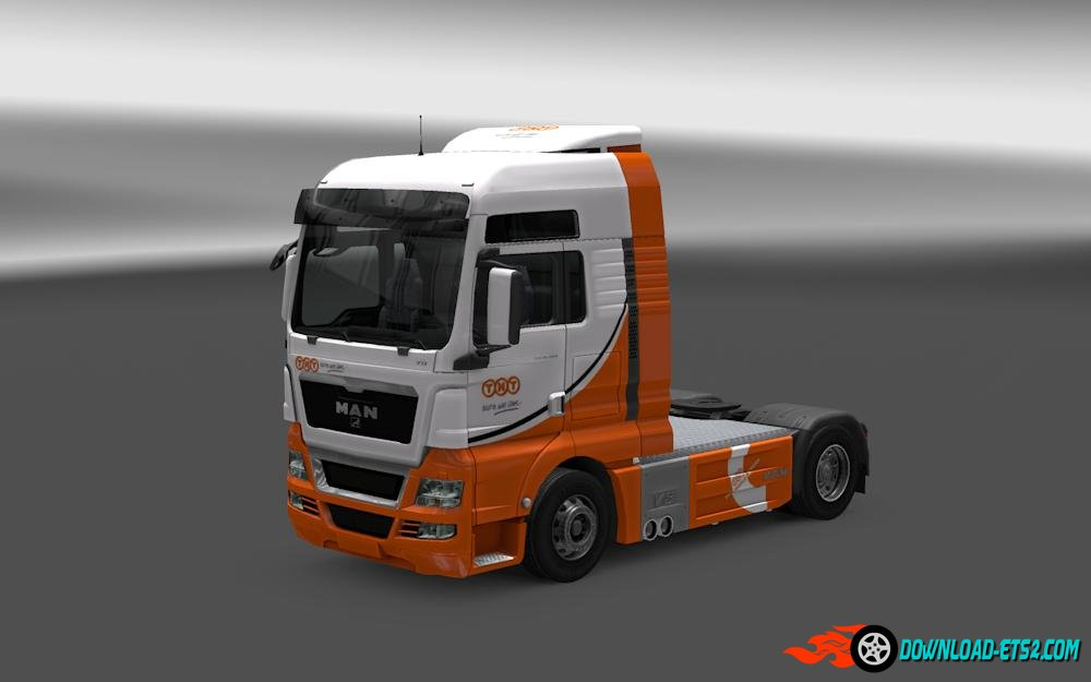 TNT Skins for MAN (TGX and Euro 6)