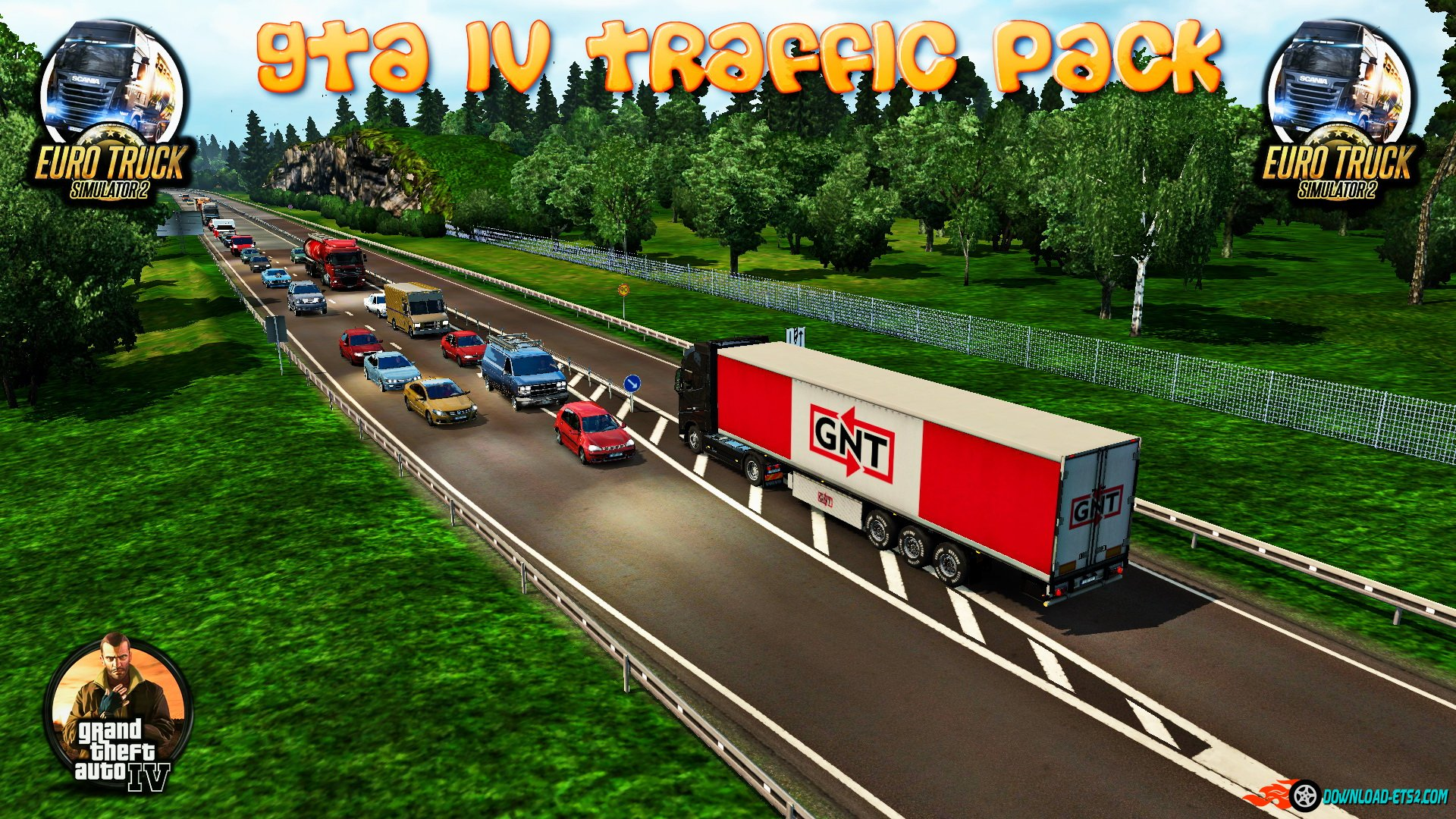 GTA IV Traffic Pack v1.1 (Final Edition) by alkonavt96
