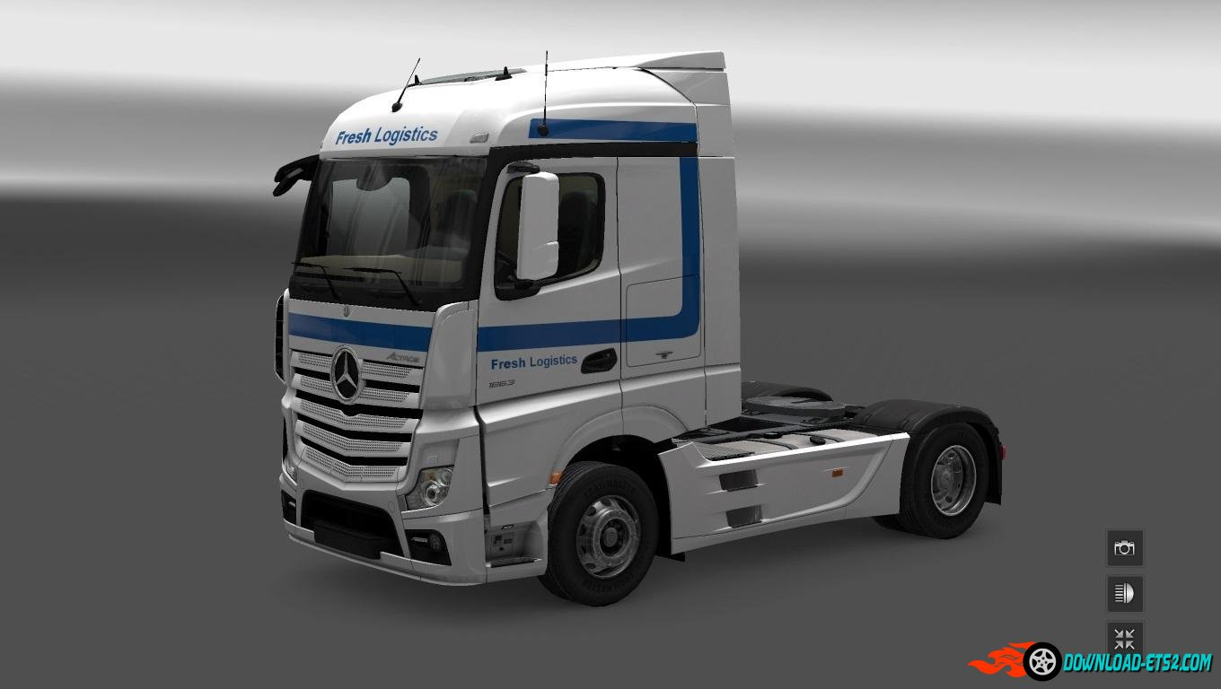 MB FRESH LOGISTICS STREAMSPACE WHITE [1.20]