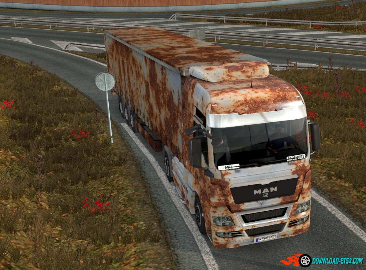 Old Rust pack for MAN TGX