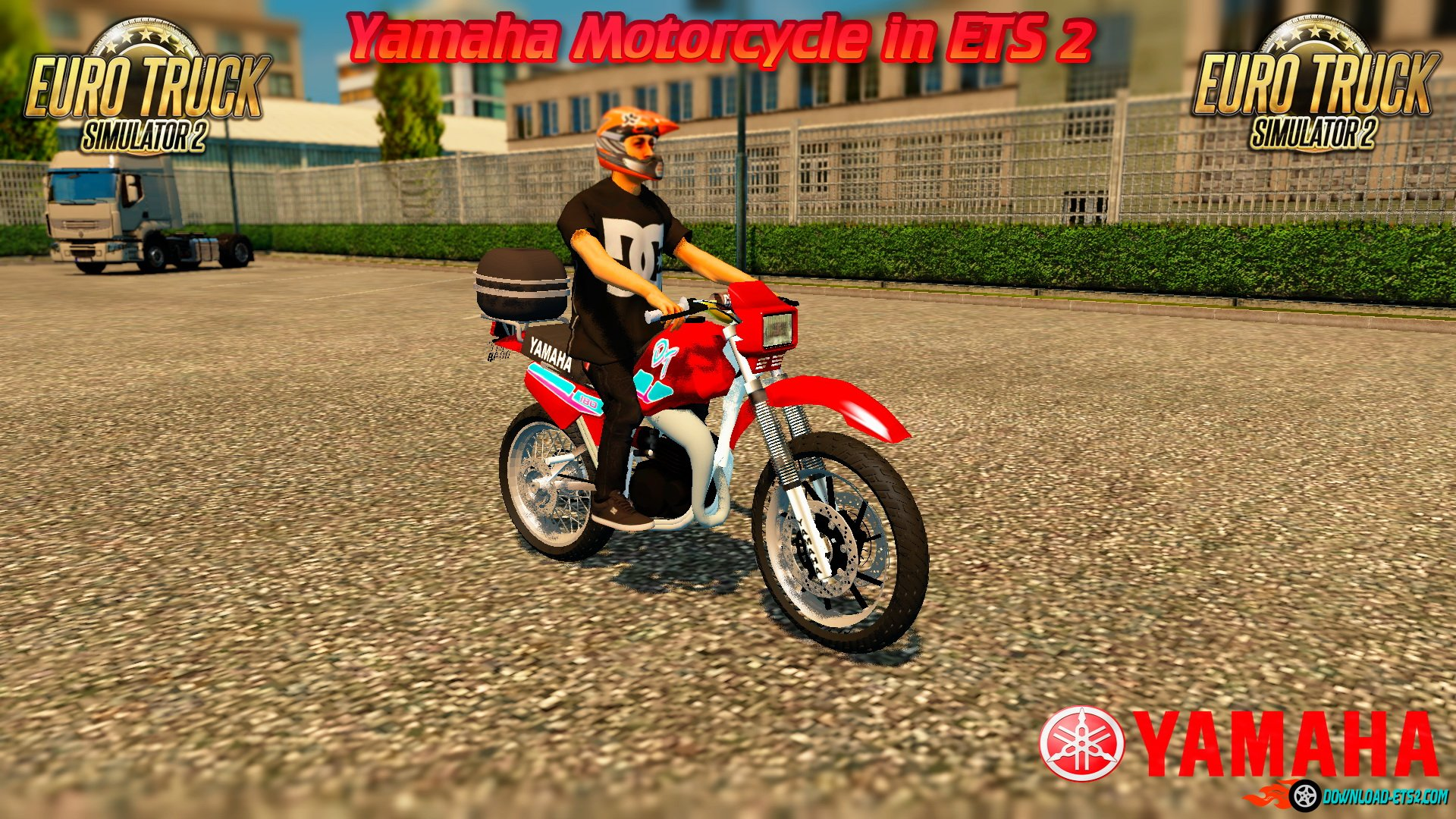 Yamaha Motorcycle in ETS 2 v1.0 (1.25.x)