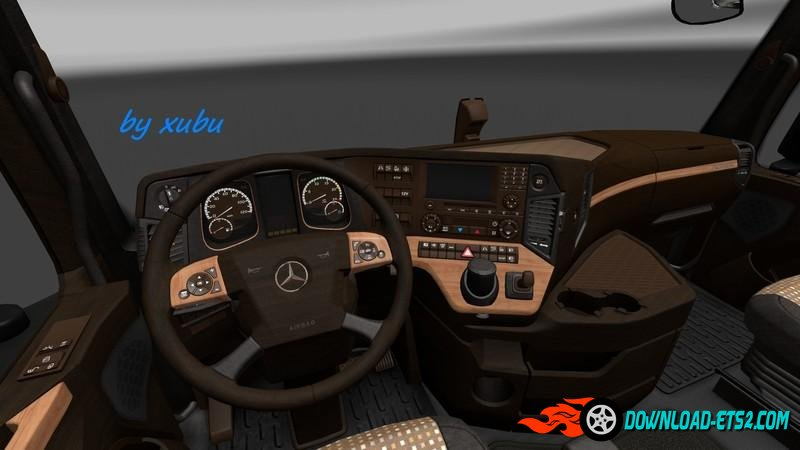 Mercedes Actros 2014 Wood Interior