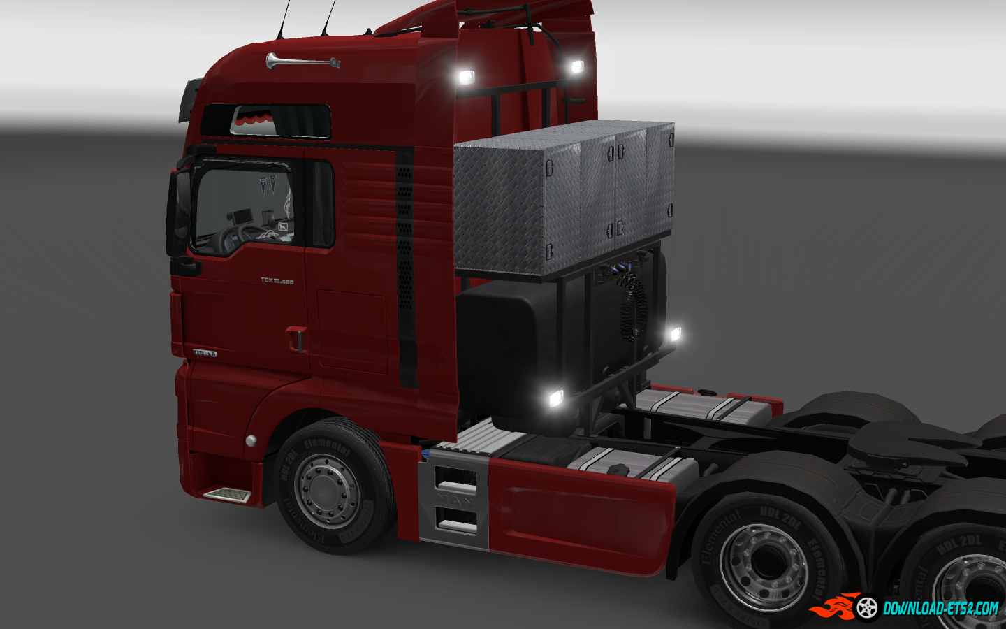 Lights for trucks MAN by MADster