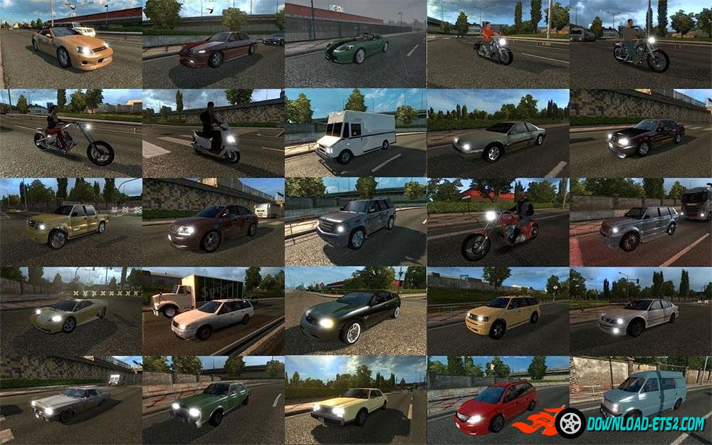 GTA IV Traffic Pack v 1.0 (update)