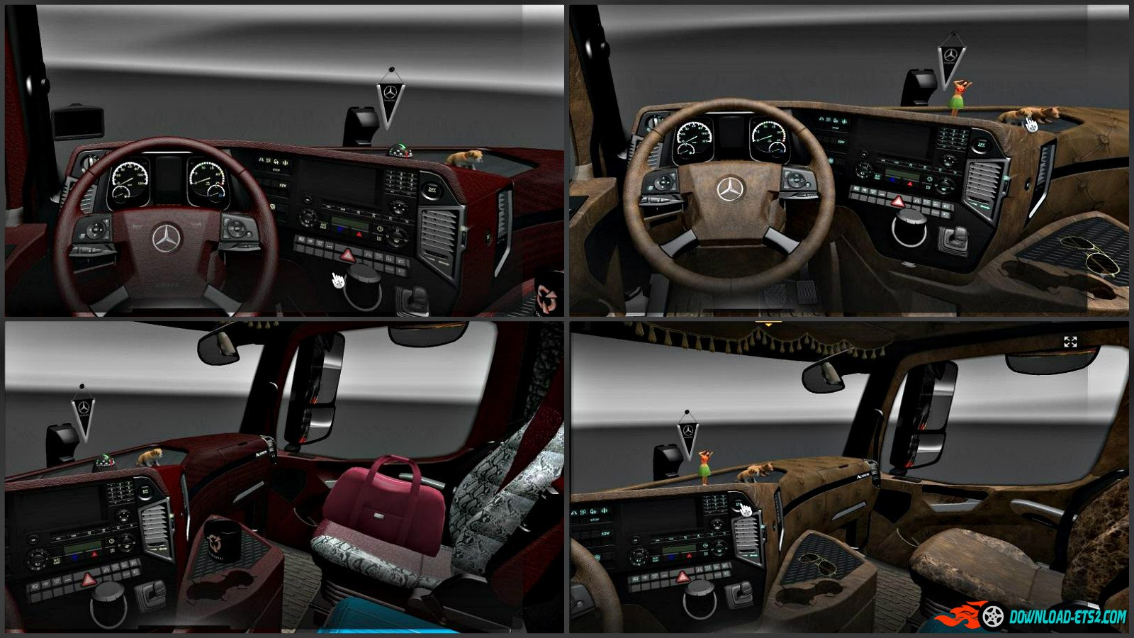 Mercedes Actros 2014 Interior Pack