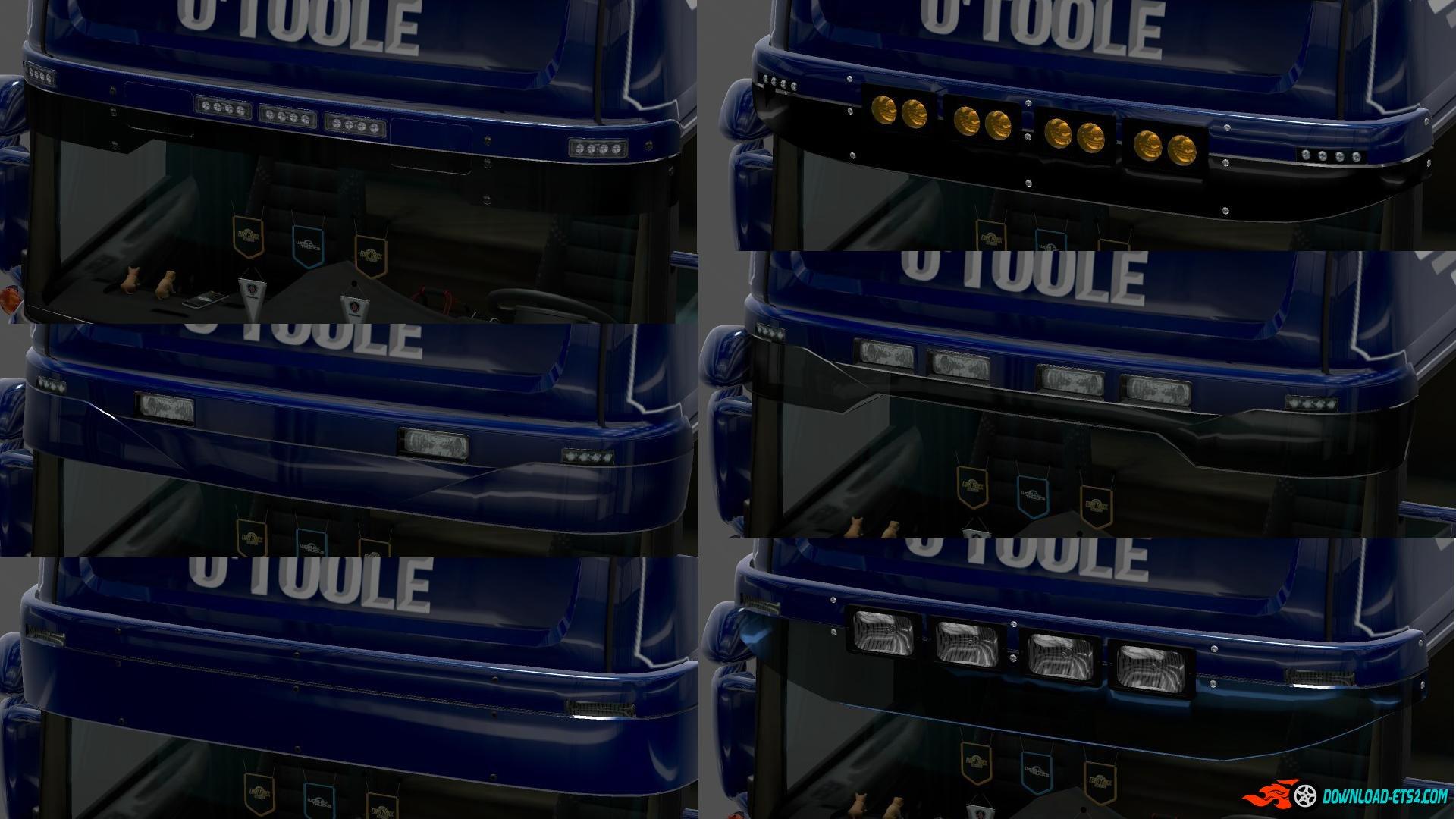 Gtm Rjl Roof Racks 187 Ets2 Mods Scs Mods Euro Truck