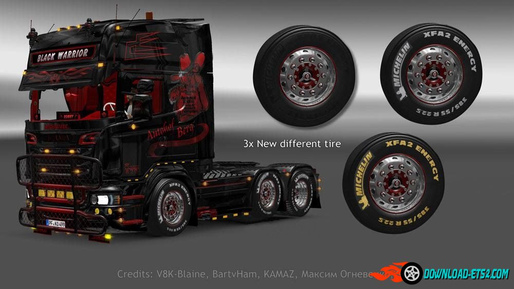 Scania Michelin Wheels Pack [1.22.x]