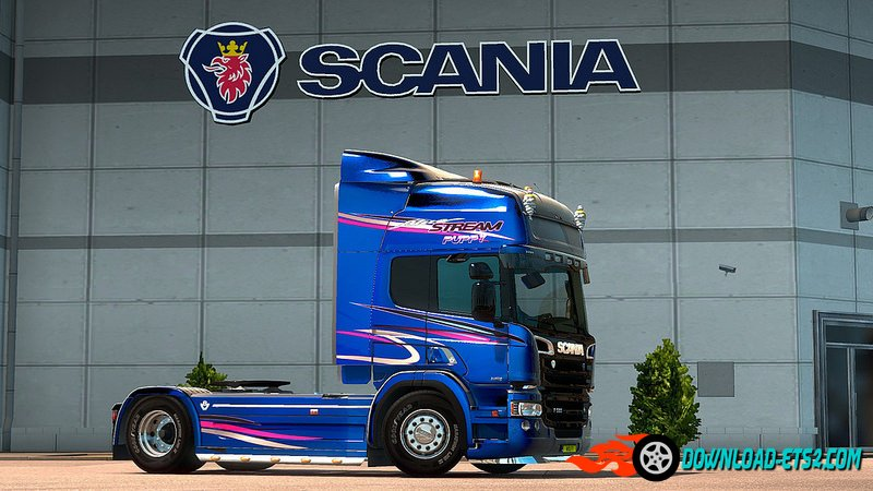 GTM P and G cabs for RJL's Scania R&S v2.4