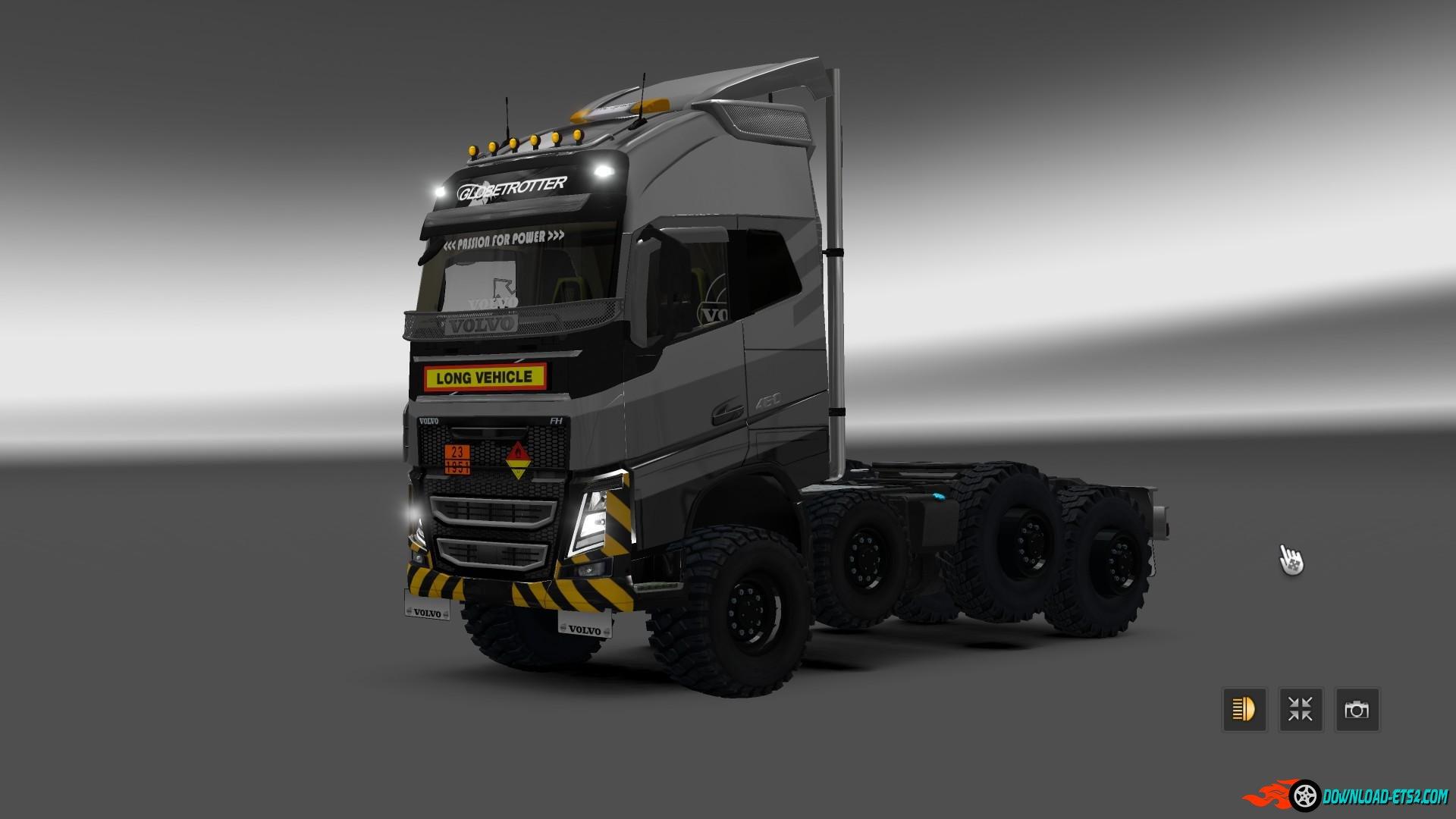 Scania Monster Truck Circle (Concept Mod) - Euro Truck Simulator 2 » Download ETS 2 mods   Truck