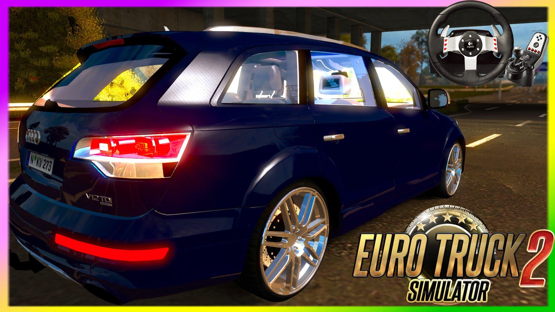 Audi Q7 Mod (Euro Truck Simulator 2) » ETS2 mods   Euro Truck Simulator 2