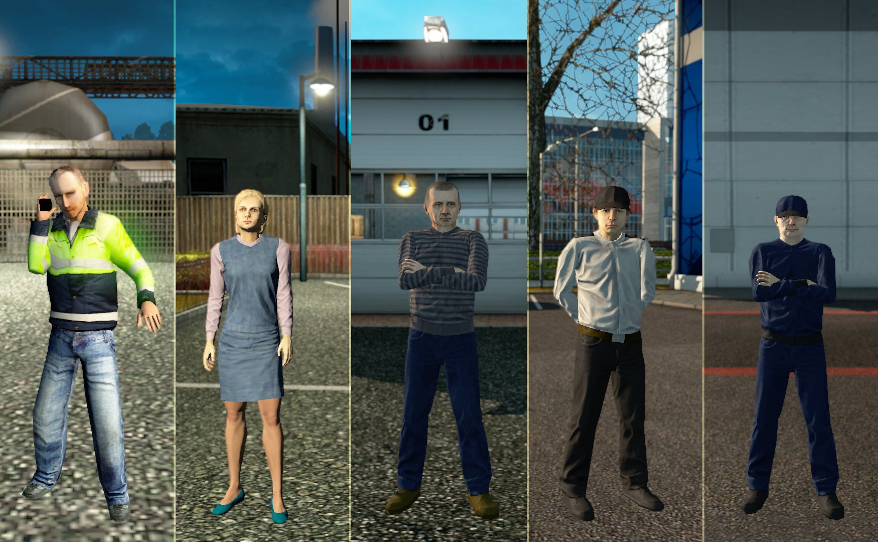 All the service staff v1.4