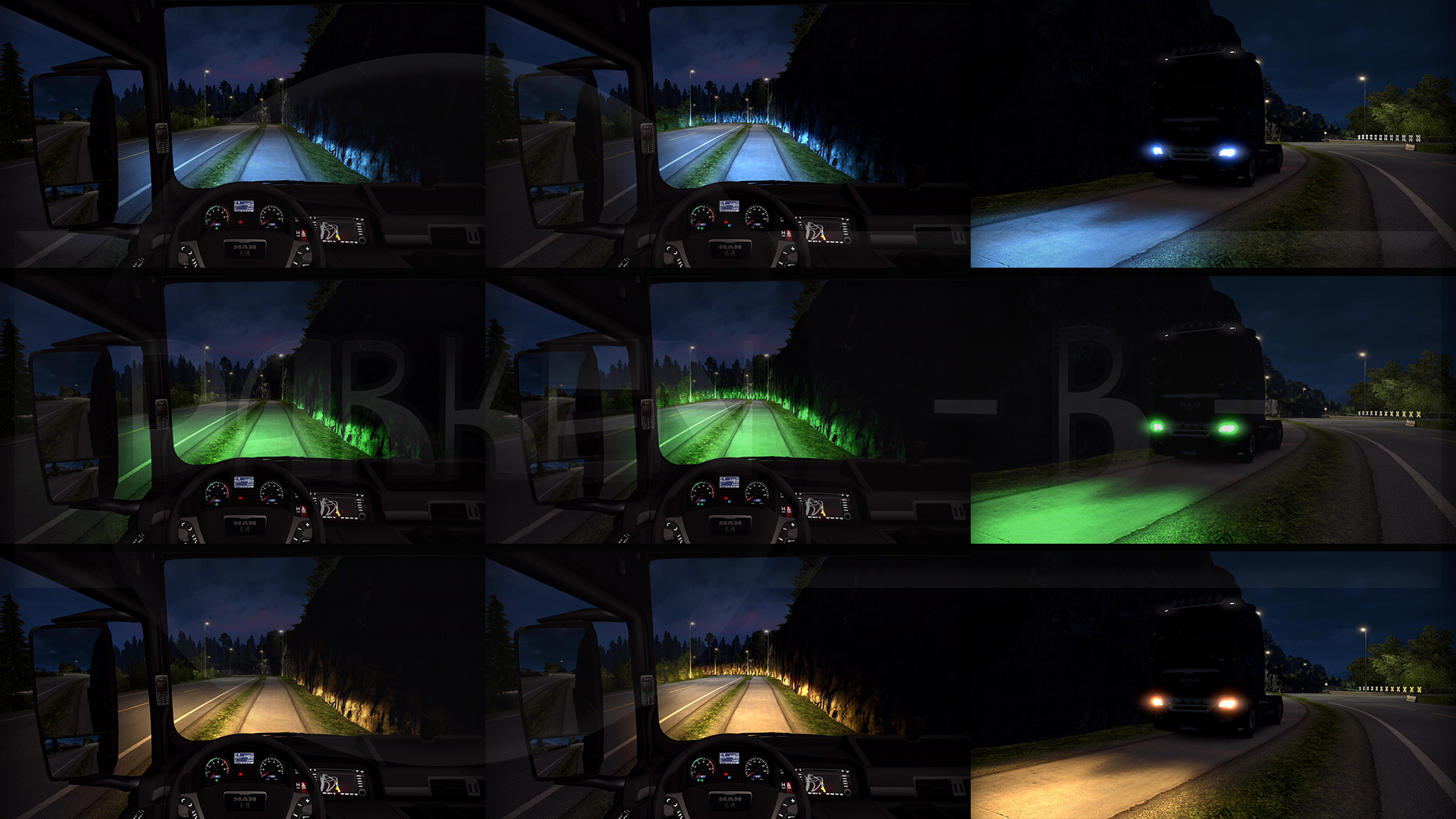 Xenon Lights PowerX COLOR-PACK v1.0 by Darken-B
