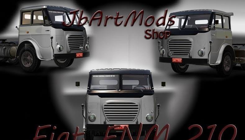 Fiat FNM 210 + Interior v1.0 by JBArtMods (1.36.x)