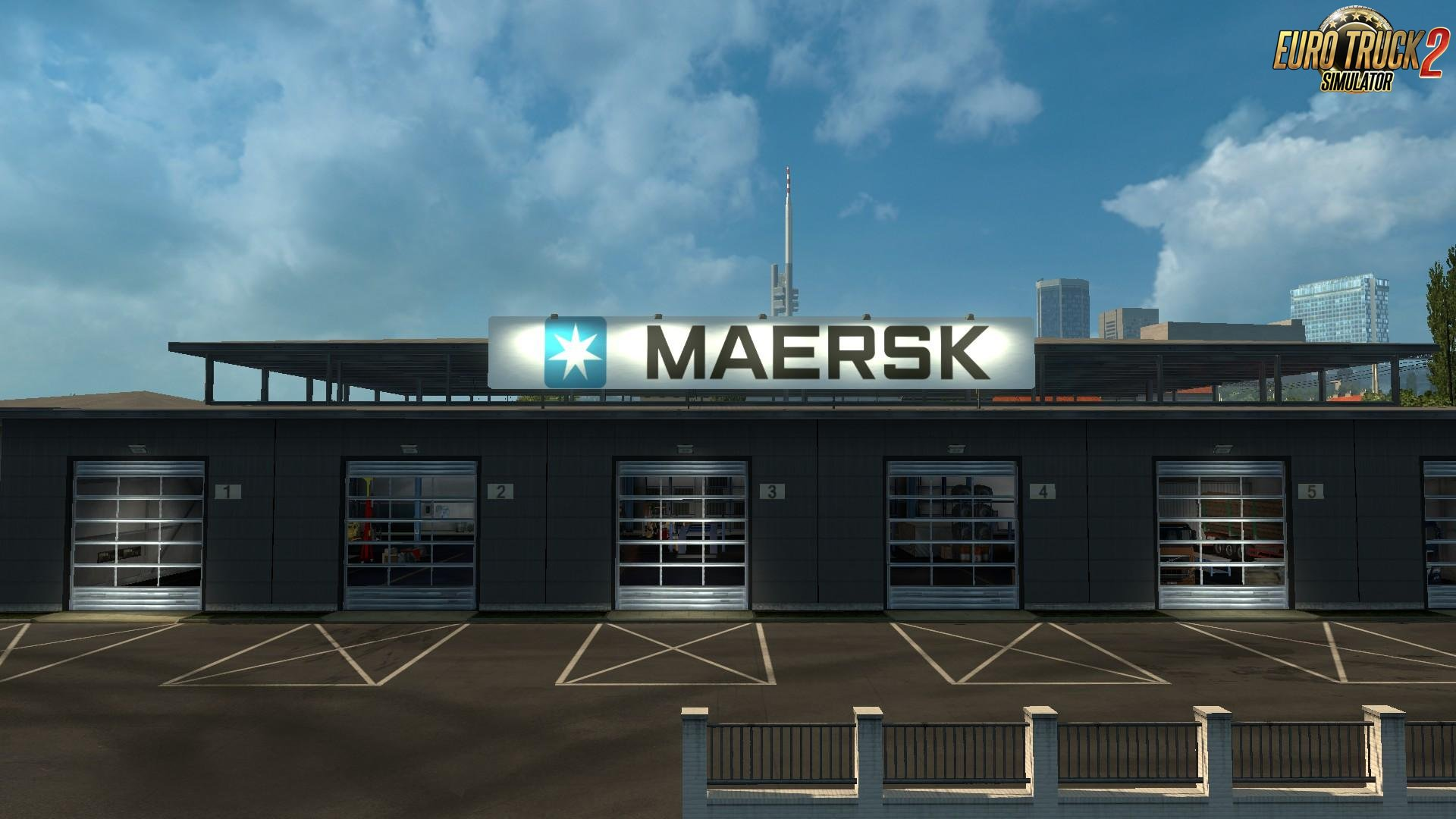 Maersk Garage for Ets2
