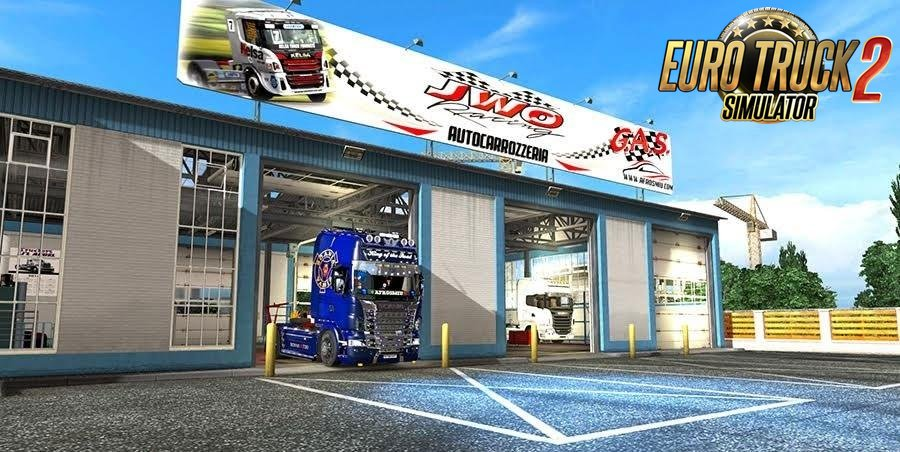 New garage 1.1 for ETS2