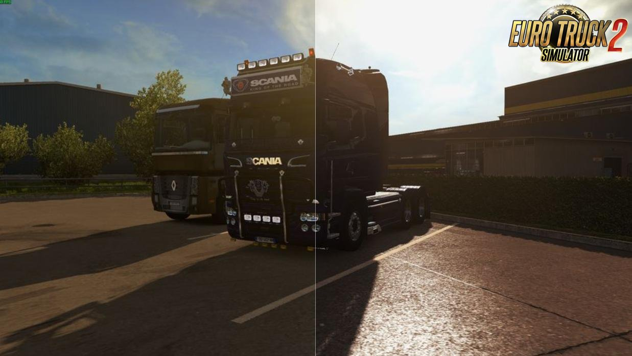 SweetFX ETS2 Improved graphics by JBK