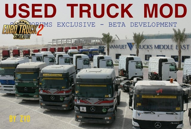 Used Trucks Mod (BETA 6.6b) for Ets2