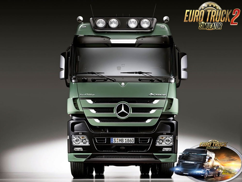 Reworked MB Actros MP3 sound