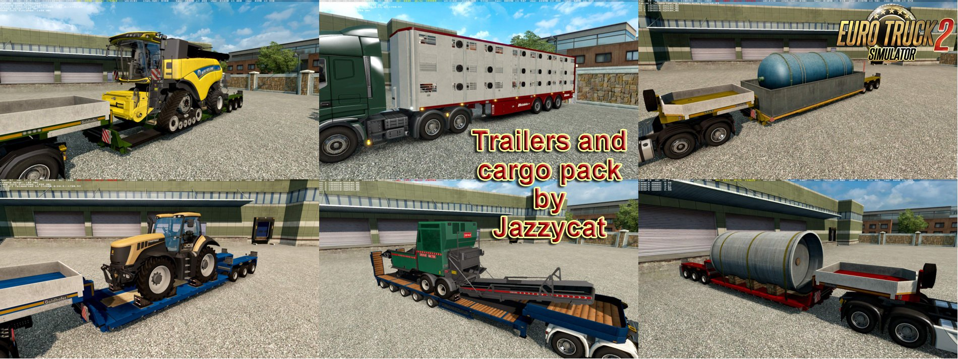 Trailers and Cargo Pack v4.4.1 by Jazzycat [1.26.x]