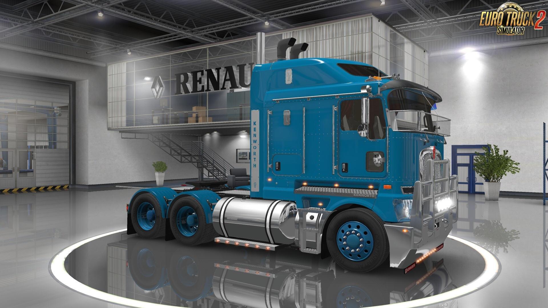 Kenworth K200 + Interior v14.0 (1.26.x) » Download ETS 2 mods | Truck mods | Euro Truck Simulator 2