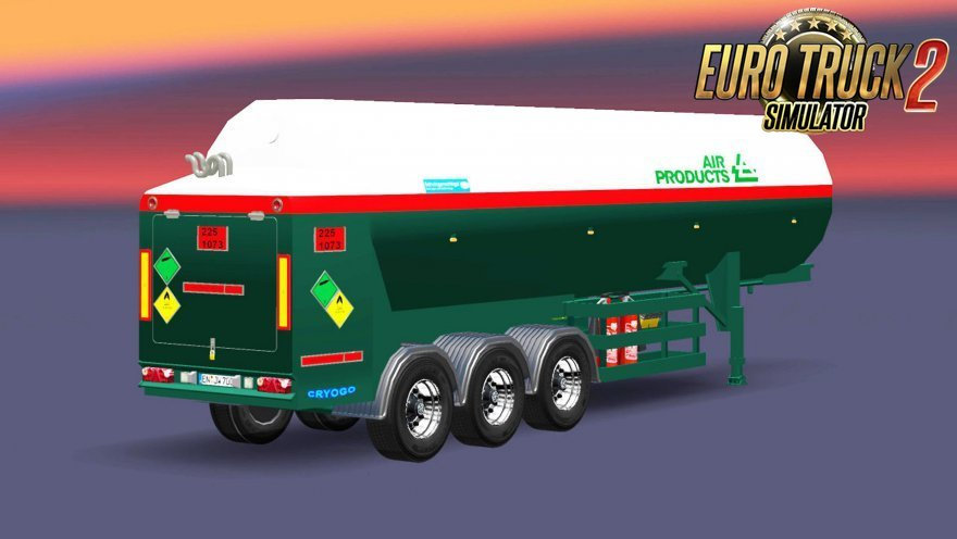 AirCon Tank Trailer v2 for Ets2