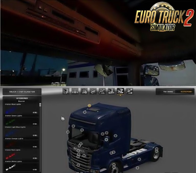 Interior Light for all trucks v2.0 [1.26.x]