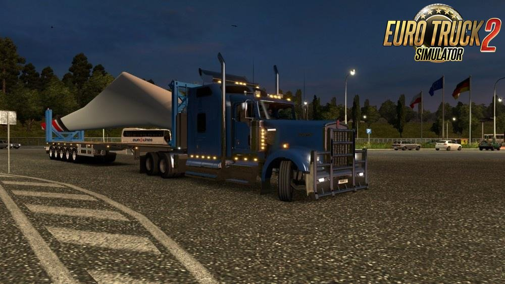 Physics and the angle of rotation for long Trucks in Ets2