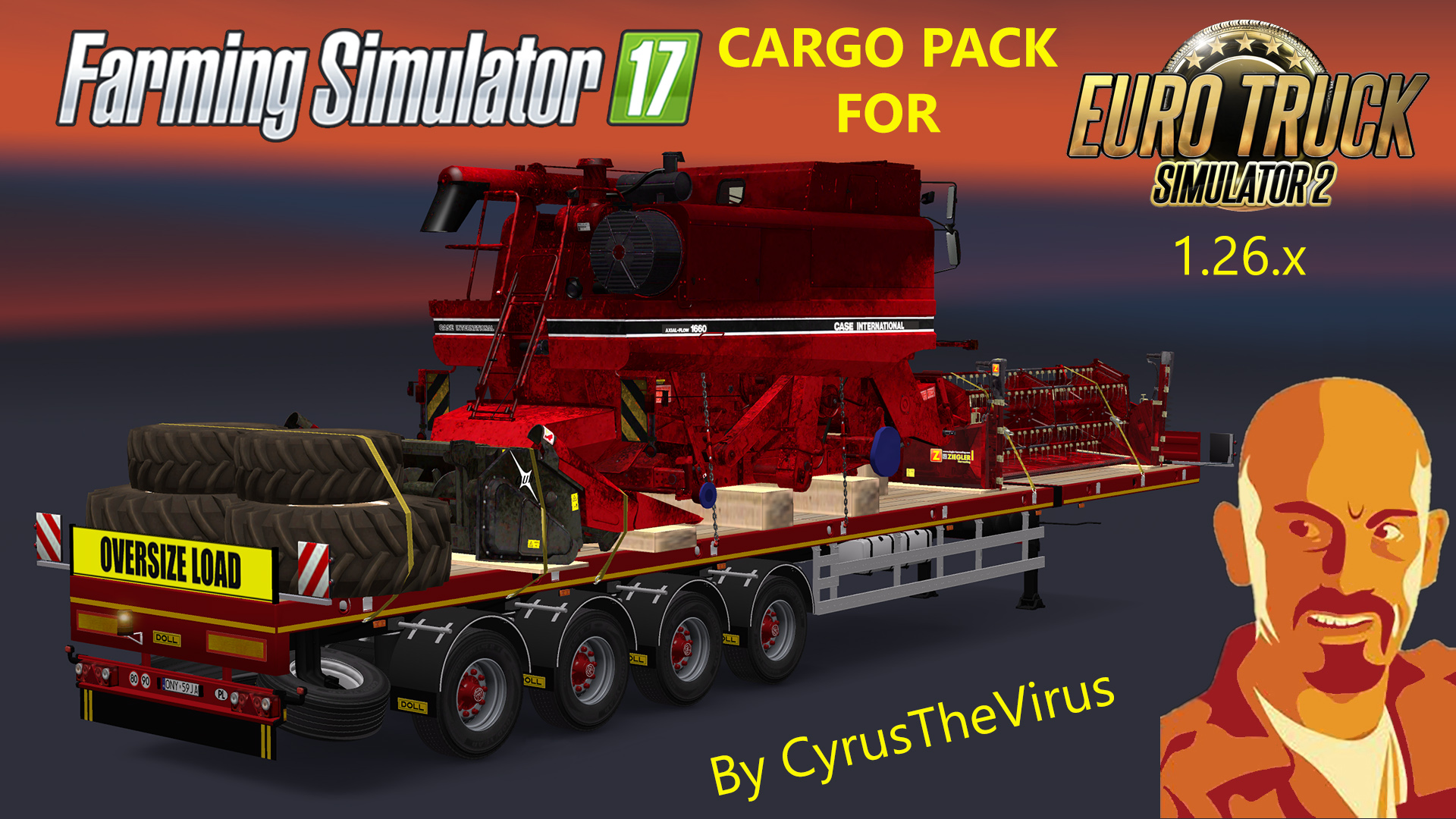 Farming Simulator Cargo Pack v1.0 (1.26.x)